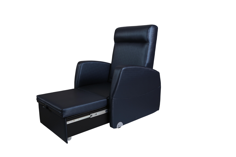 Buddy slaapstoel voor rooming in vab medical solutions for Slaap stoel